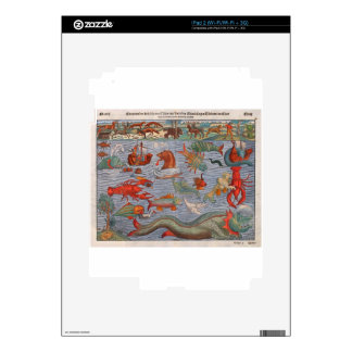 Sea Monsters iPad 2 Skins