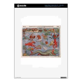 Sea Monsters iPad 3 Skin