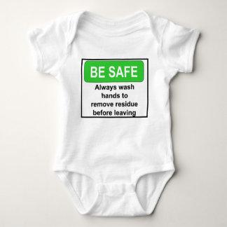 Sea muestra segura body para bebé
