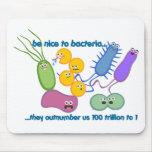 Sea Niza a las bacterias Tapetes De Ratón