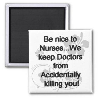 Sea Niza a las enfermeras Imán De Frigorifico
