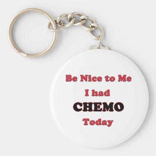 Sea Niza a mí que tenía Chemo hoy Llavero