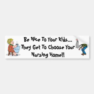 Sea Niza a sus niños, ellos consiguen elegir… Pegatina Para Auto