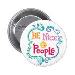 Sea Niza al botón de la gente Pin
