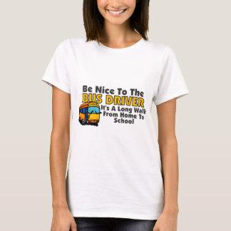 Sea Niza al conductor del autobús Playera