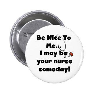 Sea Niza botón de la enfermera Pin