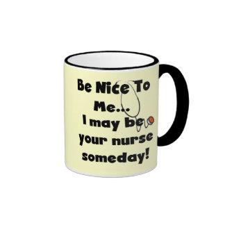 Sea Niza camisetas y regalos de la enfermera Taza