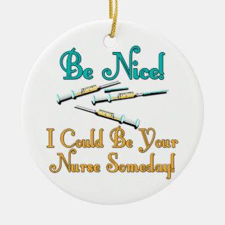 Sea Niza - humor de la enfermera Adorno De Reyes
