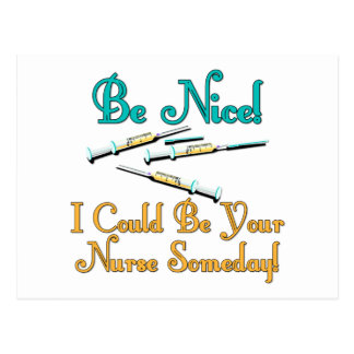 Sea Niza - humor de la enfermera Postales