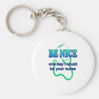 Sea Niza - un día que puede ser que sea su enferme Llavero Redondo Tipo Pin