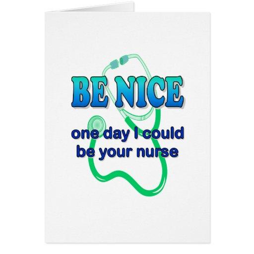 Sea Niza - un día que puede ser que sea su enferme Felicitacion