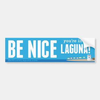 Sea Niza usted están en Laguna - pegatina para el Pegatina Para Auto