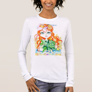 Sea Nymph and The Turtles Shore Girl Tee Shirt