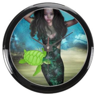 Sea Nymph Fish Tank Clock