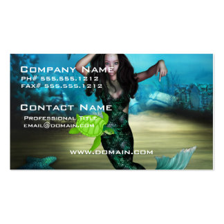 Sea Nymph Double-Sided Standard Business Cards (Pack Of 100)
