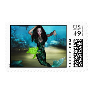 Sea Nymph Postage Stamp