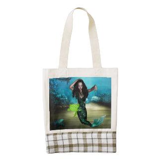 Sea Nymph Zazzle HEART Tote Bag