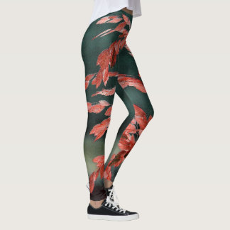 Sea Oats Abstract Leggings