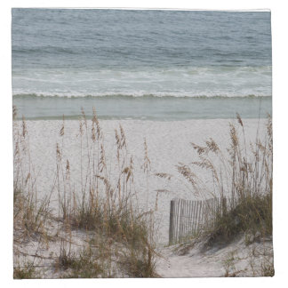 Sea Oats Along the Beach Side Cloth Napkin