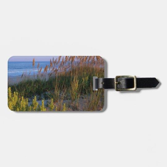 Sea Oats and Beach Bag Tag