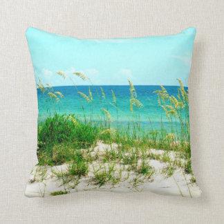 Sea Oats and Dune Grass Beach Pillow