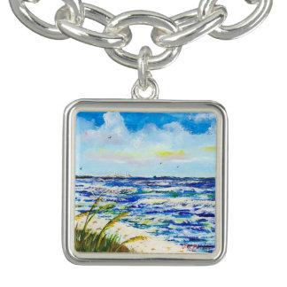 Sea Oats and Skyway Charm Bracelets