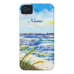 Sea Oats and Sunshine Skyway Tampa Bay Florida iPhone 4 Cover