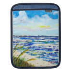Sea Oats and Sunshine Skyway Tampa Bay Florida Sleeve For iPads
