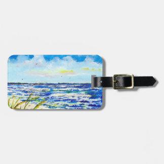 Sea Oats and Sunshine Skyway Tampa Bay Florida Bag Tags