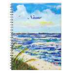 Sea Oats and Sunshine Skyway Tampa Bay Florida Notebook