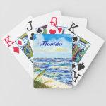 Sea Oats and Sunshine Skyway Tampa Bay Florida Card Deck