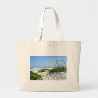 Sea Oats at Ocracoke Canvas Bag