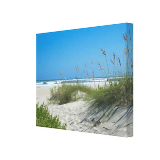 Sea Oats at Ocracoke Canvas Print