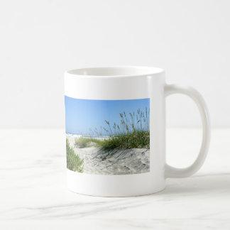 Sea Oats at Ocracoke Classic White Coffee Mug