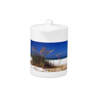 Sea Oats, Beach, Teapot