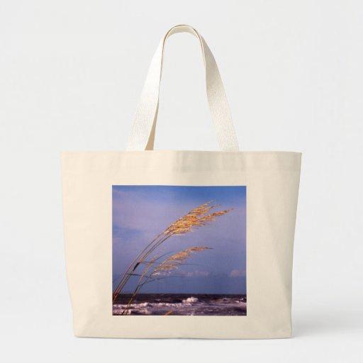Sea Oats Canvas Bag