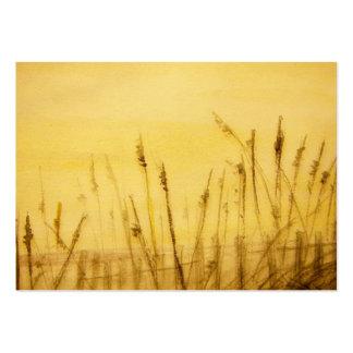 sea oats large business card