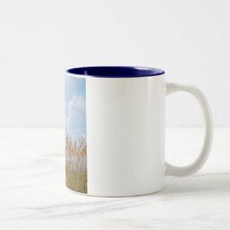 Sea Oats Two-Tone Coffee Mug