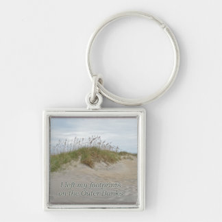 Sea Oats on Sand Dune Outer Banks NC Keychain