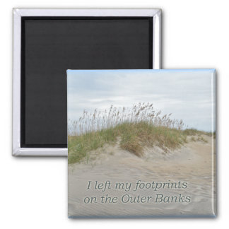 Sea Oats on Sand Dune Outer Banks NC Magnet