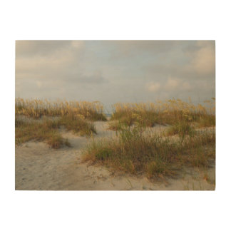 Sea Oats on the beach Wood Wall Decor
