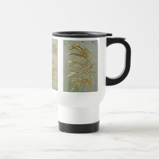 Sea Oats Outer Banks NC Series 15 Oz Stainless Steel Travel Mug