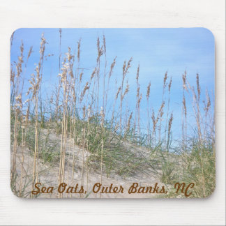 Sea Oats Outer Banks NC Series Mouse Pad