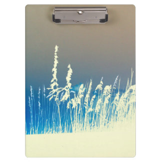 sea oats outline yellow abstract beach image clipboard