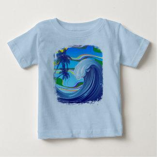 Sea Ocean big Wave Water baby t_shirt Baby T-Shirt