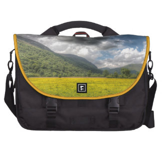Sea of buttercups The Lake District Cumbria Laptop Computer Bag