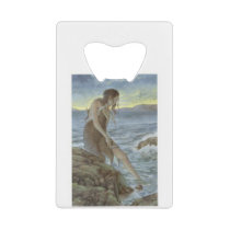 sea of clarity and peace credit card bottle opener