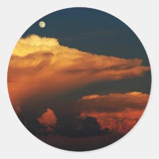 Sea of Clouds Classic Round Sticker