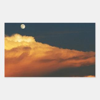 Sea of Clouds Rectangular Sticker