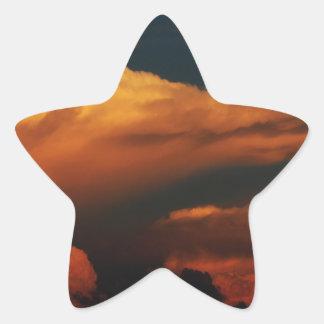 Sea of Clouds Star Sticker